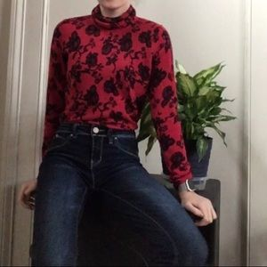 PECK AND PECK 100% CASHMERE TURTLE NECK SWEATER